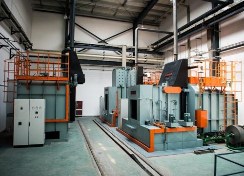 RMW型水淬箱式渗碳炉生产线